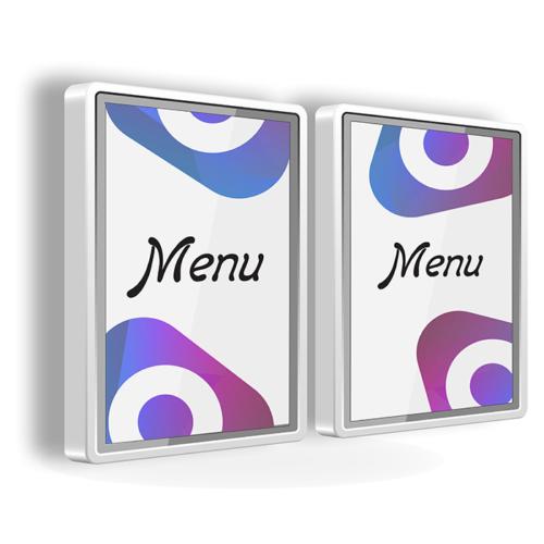 Печать меню для световых табло
