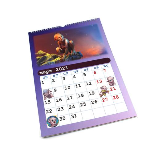 Настенный календарь - март 2021