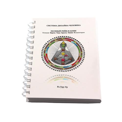 брошюра на металлической пружине- система дизайна человека